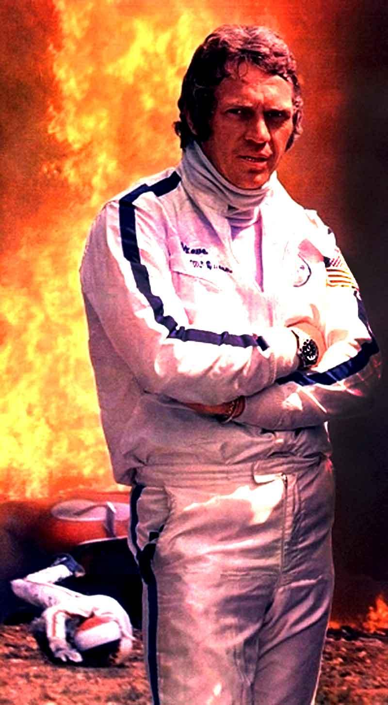 Home gt steve mcqueen porsche paintings - Steve Mcqueen Racing At Le Mans Rolex Submariner