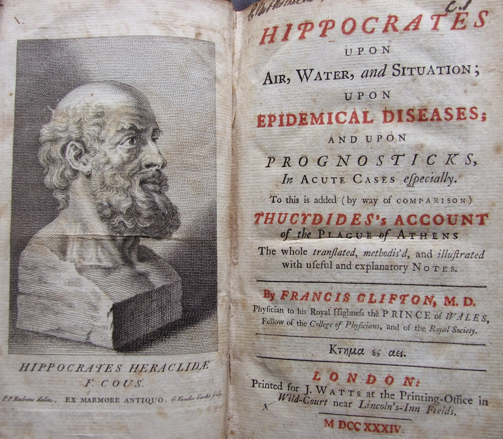 hippocrates the father of medicine Hippocrates, the father of medicine, may have lived from c 460-377 bc, a period covering the age of pericles and the persian war like other details about.