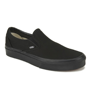 Zapatillas Vans Classic Slip-On Lienzo - Negro