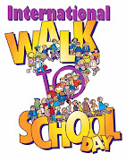 Wednesday, October 5th is International Walk to School Day, an annual event . (walk to school day graphic)