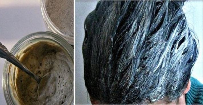 De mostaza y pertsovaya la máscara para los cabellos