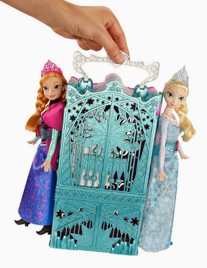 TOYS : JUGUETES - DISNEY Frozen  Armario de Anna y Elsa | Anna and Elsa's Royal Closet  Producto Oficial de la película | Mattel BDK36  A partir de 3 años | MUÑECAS NO INCLUIDAS
