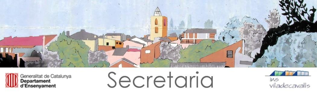 Institut de Viladecavalls - Secretaria