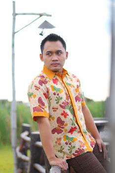 batik printing kupu kupu
