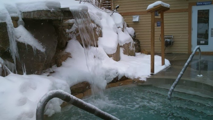 Canada Skiing Bath House Nirvana Room Quebec