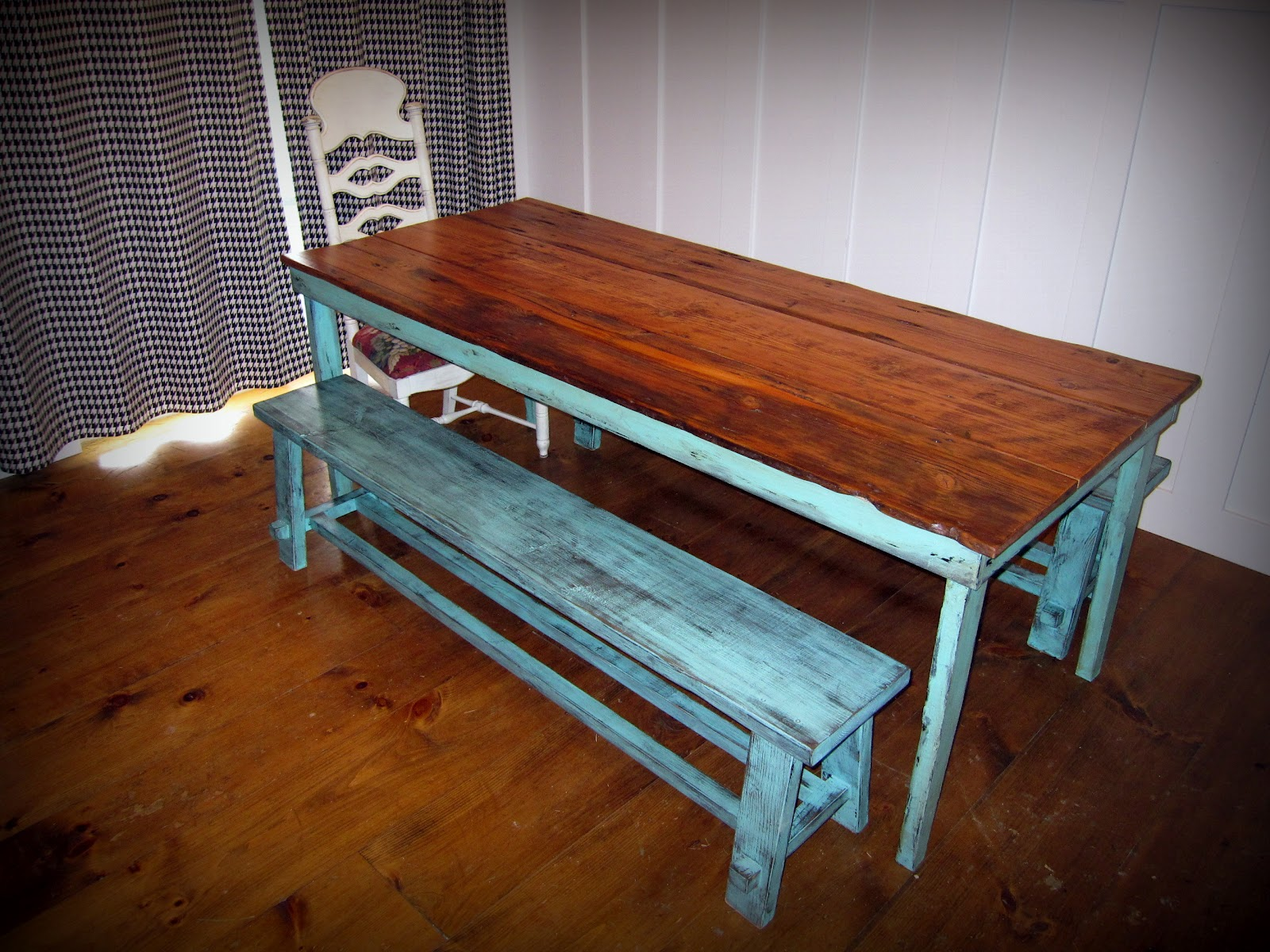 Zan Taylor Designs Old Barn Wood Table