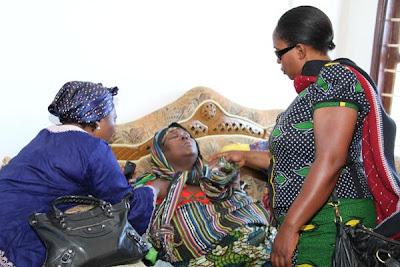 Khadija Kopa Yu Hoi Kwa Majonzi - Msiba wa Mume Wake Jaffari Ally