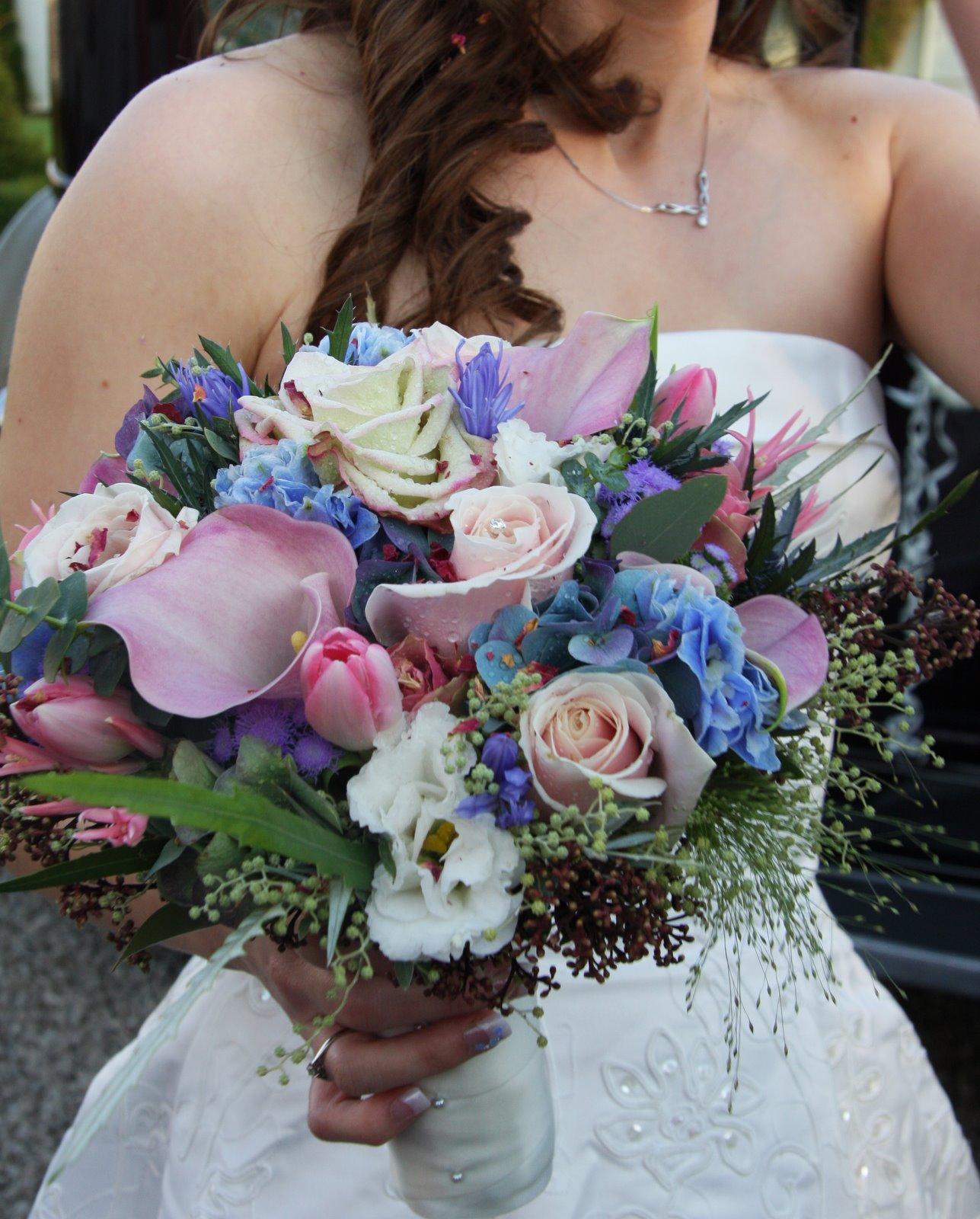 Blue white wedding flowers choice image flower decoration ideas de beautiful wedding bouquet blue wedding dress collection mightylinksfo izmirmasajfo