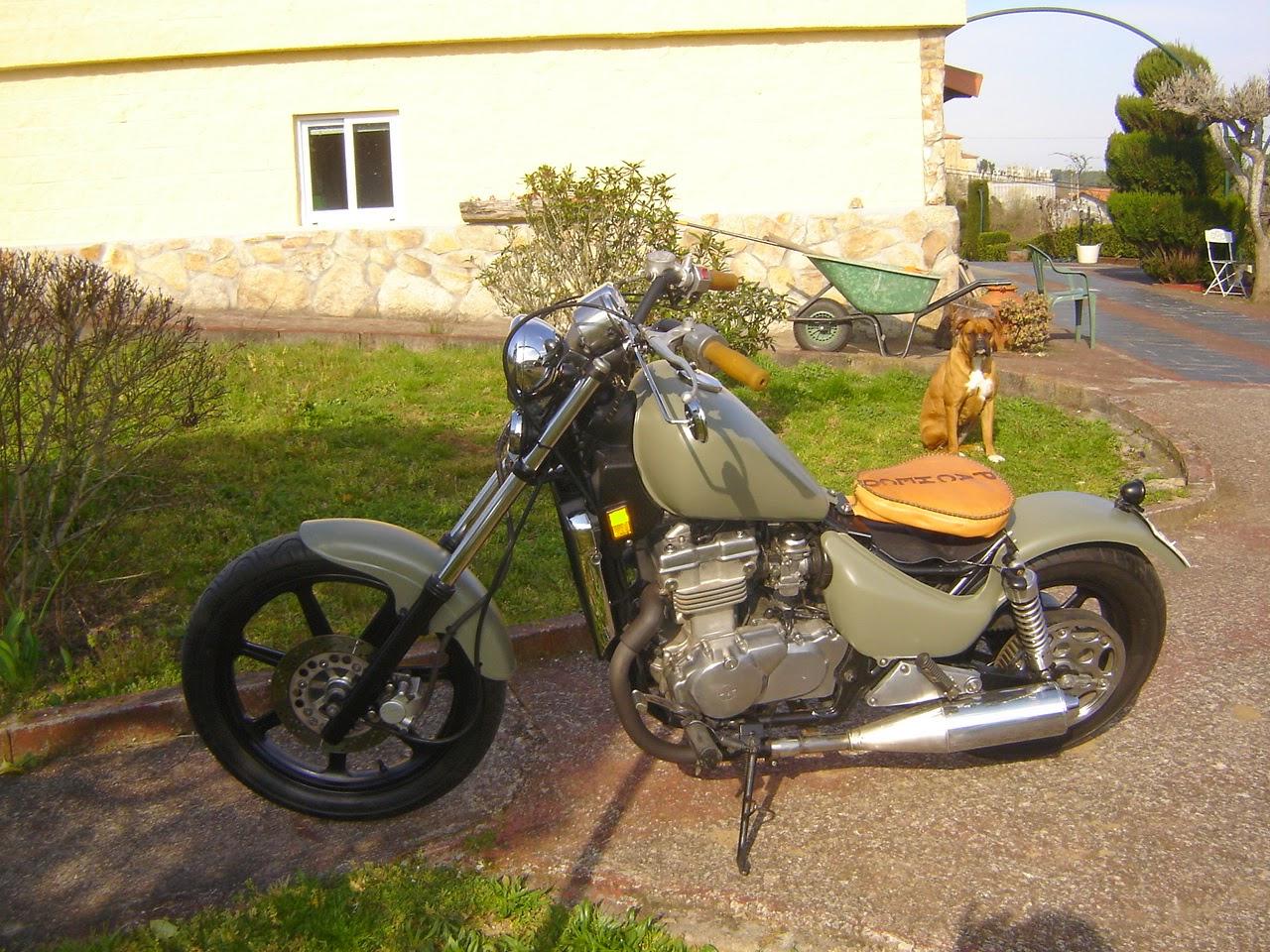 Customizaci  n de motocicletas  BOBBER BASE VULCAN 500 EN