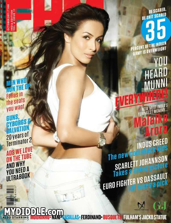 Malaika Arora FHM Cover - Malaika Arora Khan FHM Hot cover