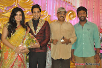 Celebraties at Actor Bharat n Jessy Wedding Reception Photos+%252896%2529 Actor Bharath n Jessy Wedding Photos