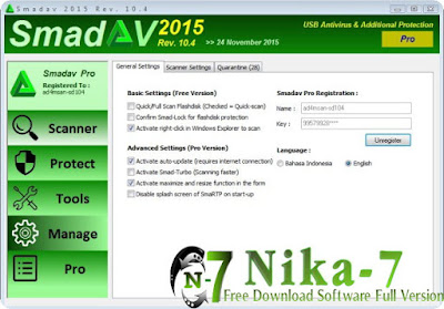 Smadav Pro 10.4 2015 Final Serial