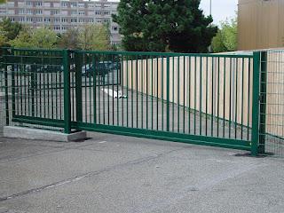 Автоматические откатные ворота. Фото 3