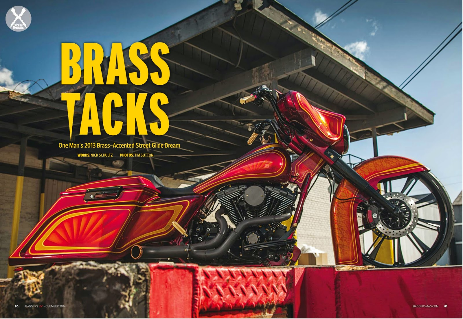 Brock Chobar Arizona Baddest Bagger Baggers Magazine