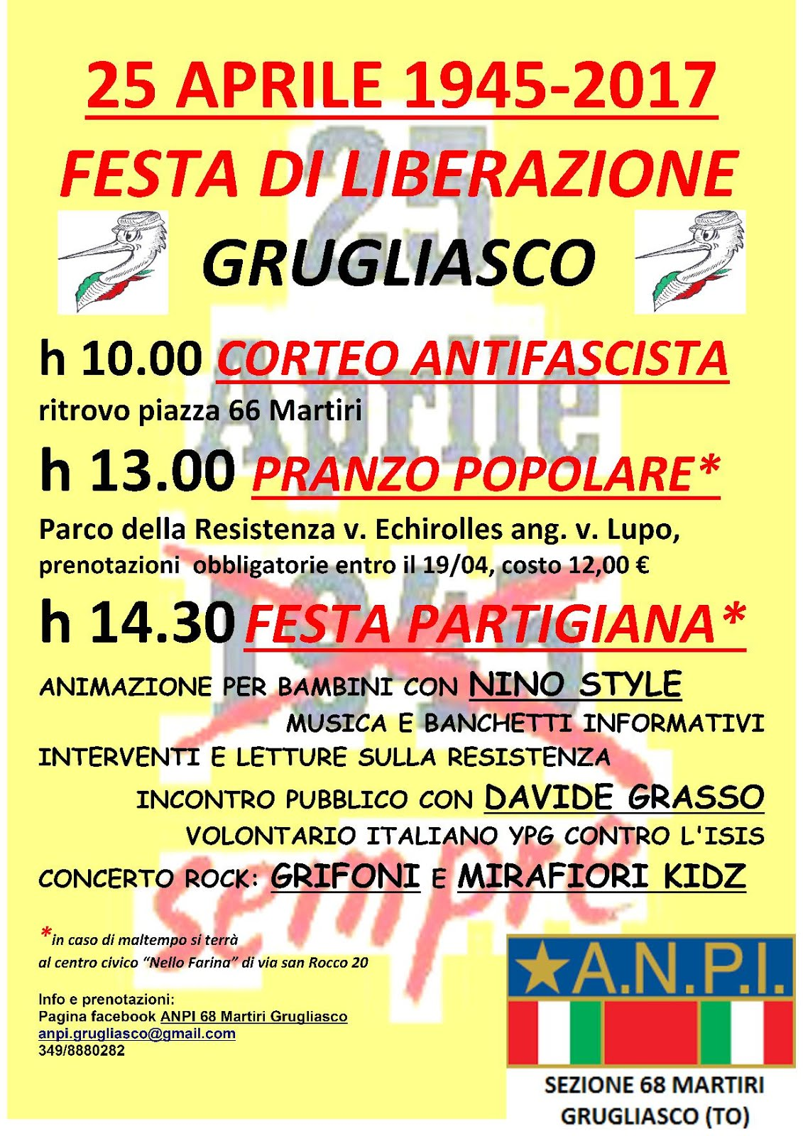 25 Aprile 2017 a Grugliasco