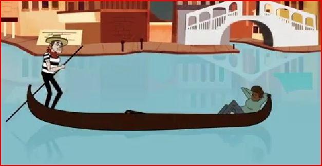 gondola Venice Venezia animatedfilmreviews.filminspector.com