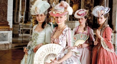 charming rococo women