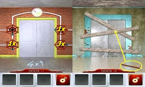 Best game app walkthrough 100 doors 2 walkthrough level for Door 4 level 13