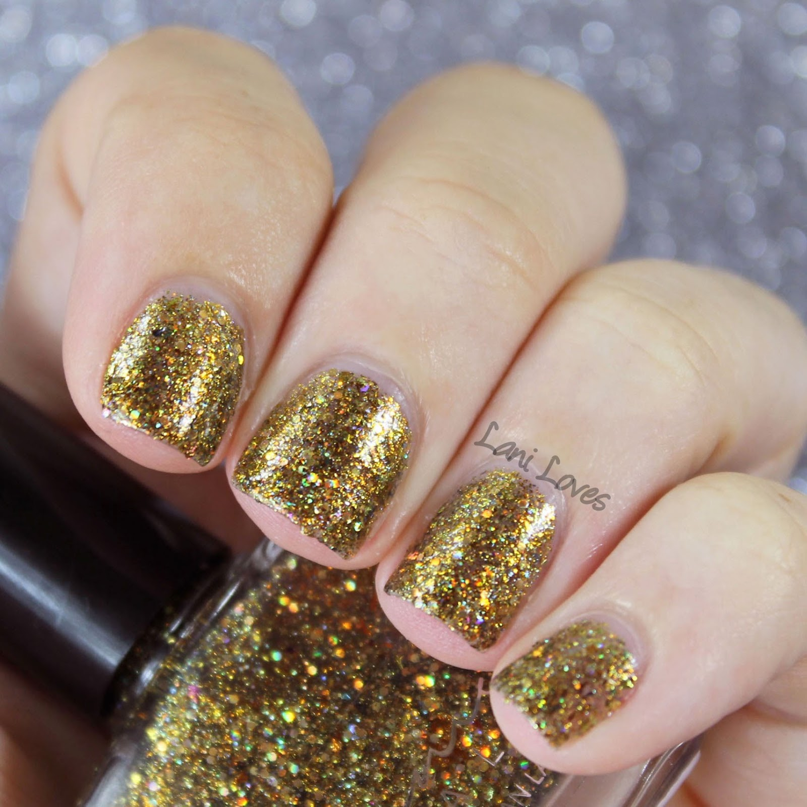 Femme Fatale Cosmetics - Fool's Paradise nail polish swatch