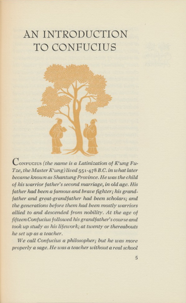 the philosophy of confucius 2 essay Confucius and confucianism is barely the most popular philosophy across the world born in china, the confucianism spreads all over the continents but it is.