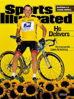 Raw Mom and Hot Dog Kids: Lance Armstrong's Livestrong Diet Tracking