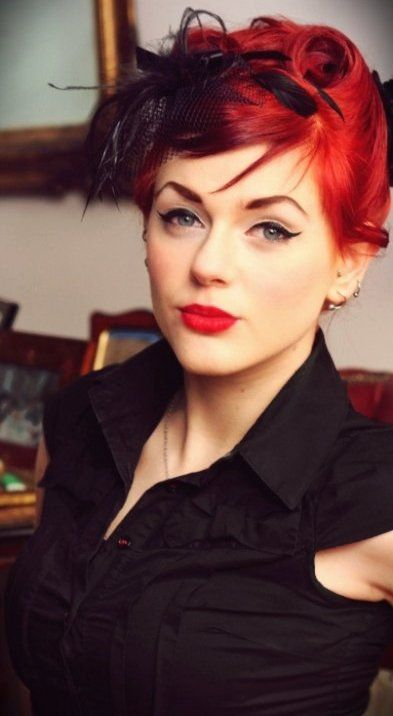 Ivana Gretel Macabre deviantart fotos modelo ruiva pin-up Aristocrata