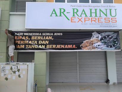 Banner 20x4 Ar-Rahnu Malay Town