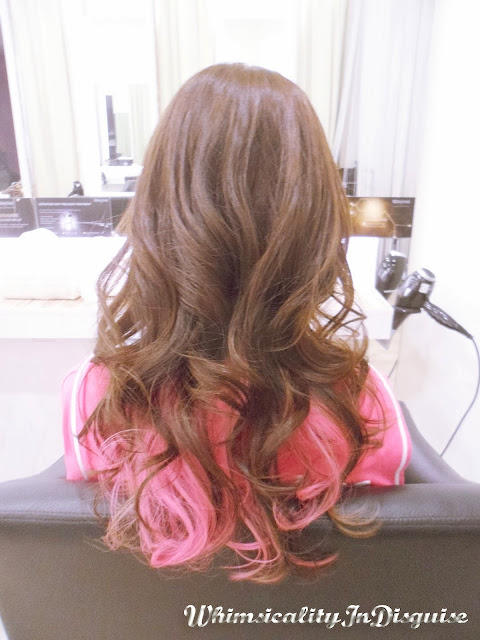 hazelpeiting salon de choix pink hair