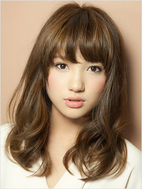 awesome curly japanese hairstyle