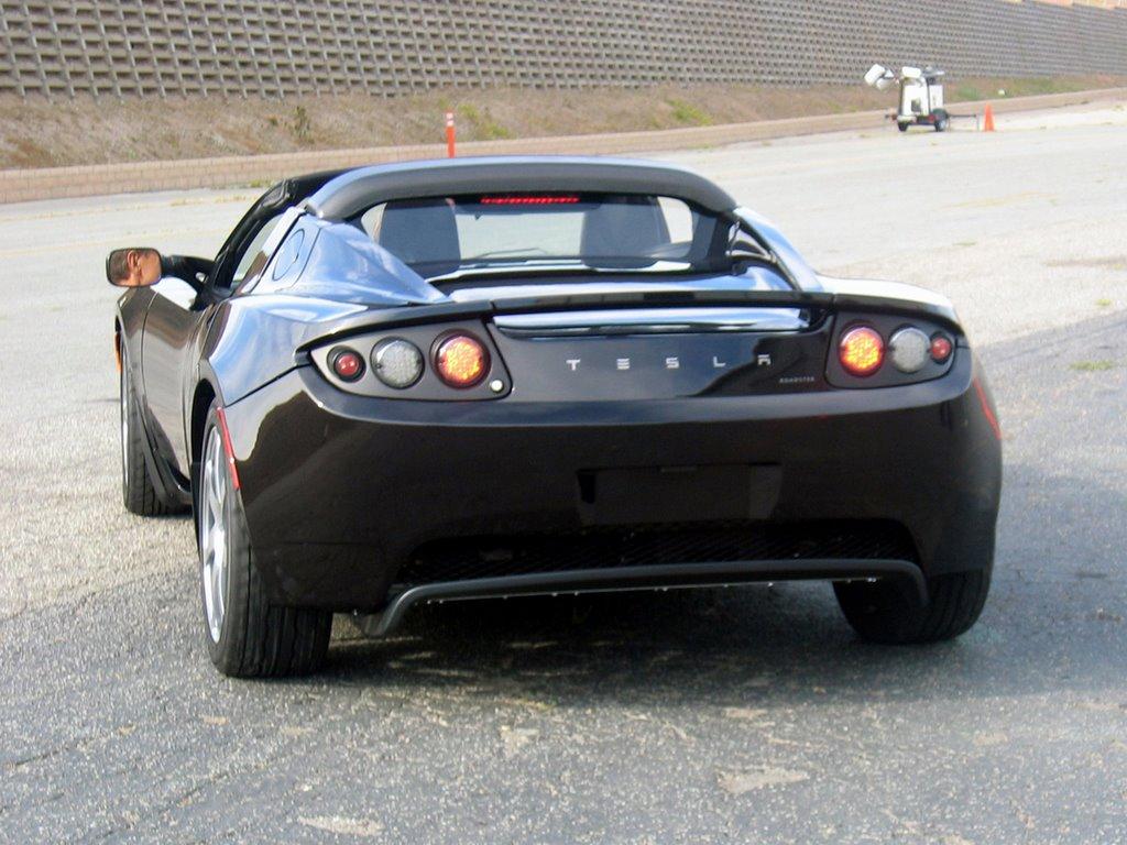 hd cars wallpapers: tesla roadster