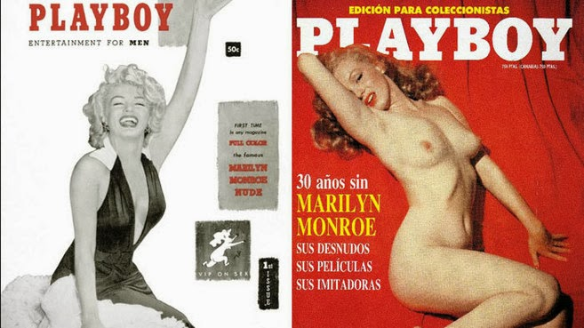 Revista PlayBoy Marilyn monroe Enero 2013