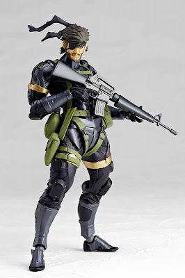 Kaiyodo Revoltech Metal Gear Peace Walker Snake
