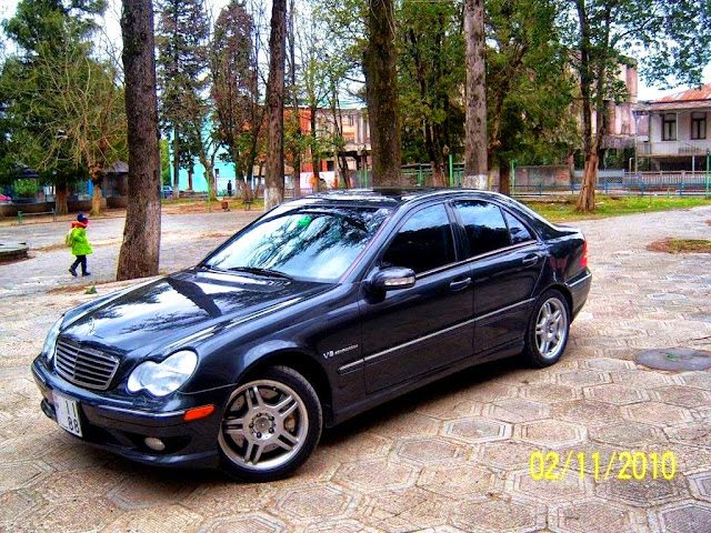 mercedes benz w203 c32 amg benztuning. Black Bedroom Furniture Sets. Home Design Ideas