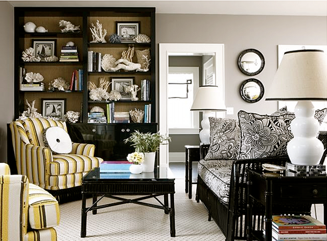 Black and Grey Living Room Furniture