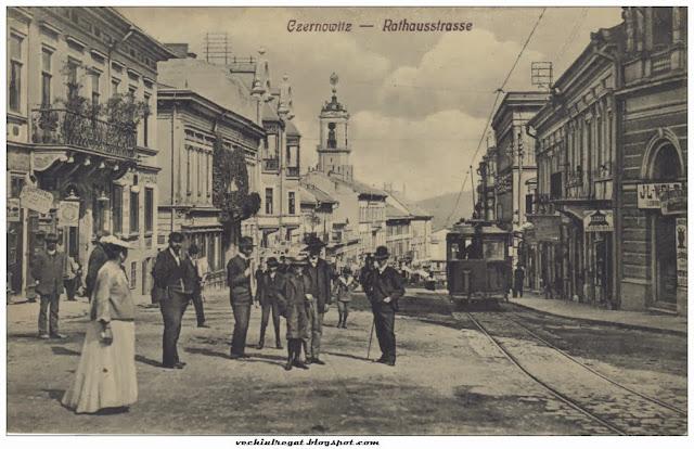Strada Tribunalului din Cernautiul romanesc
