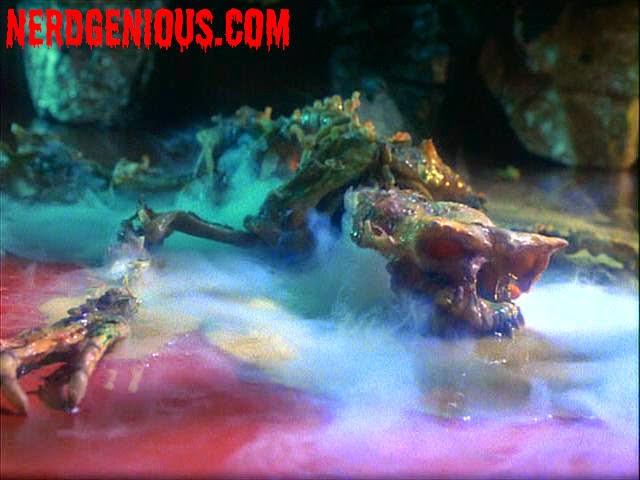 Gremlins melting scene
