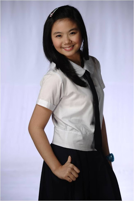 Miles Ocampo as Camille in LUV U