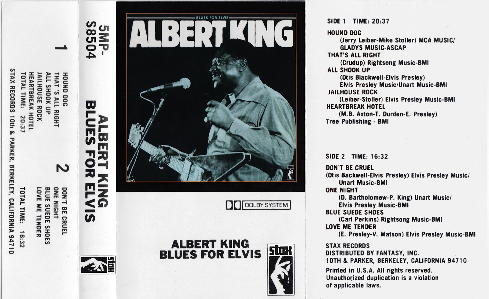 Albert King King Does The Kings Thing