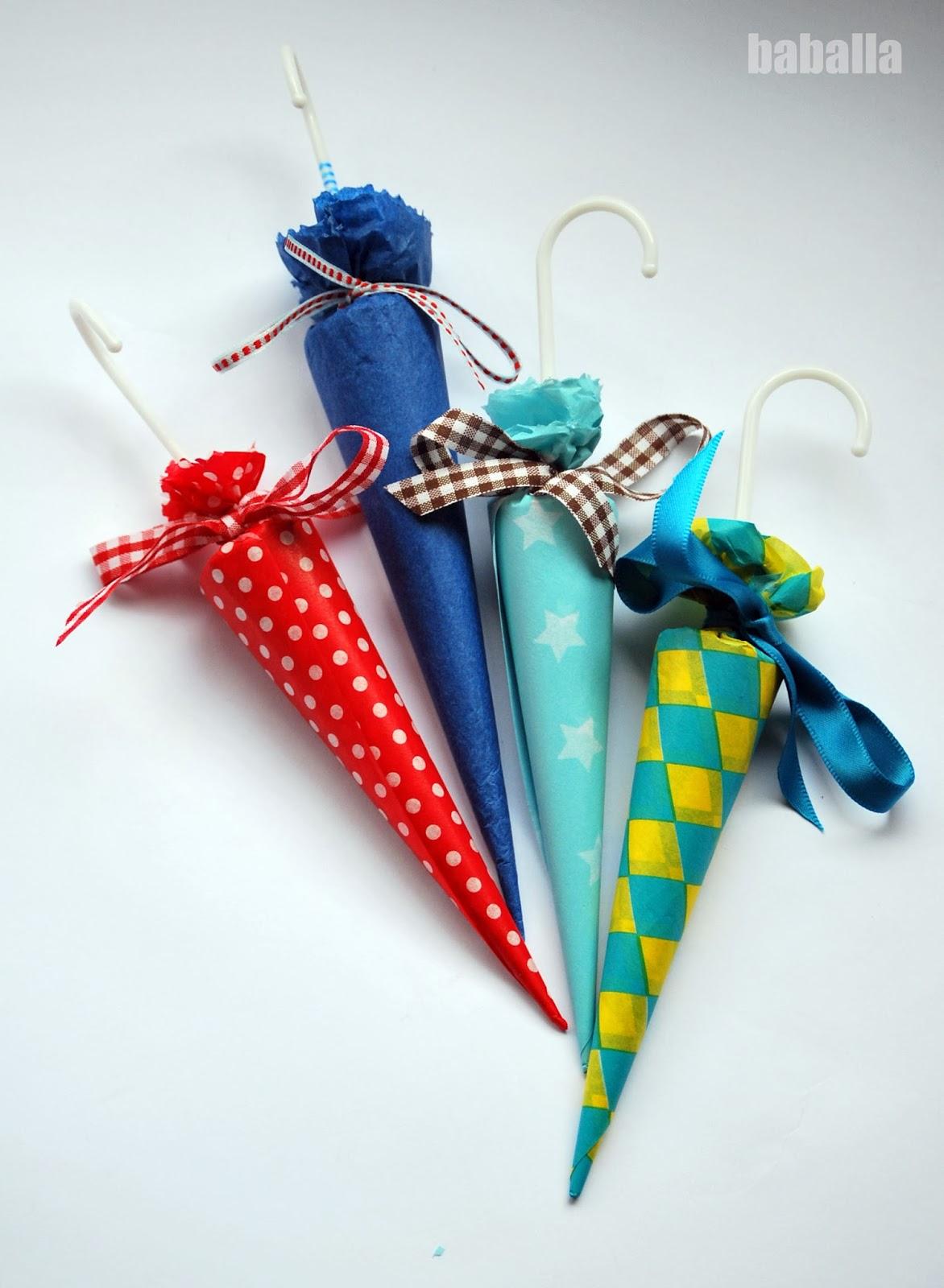 Diy paraguas de chocolate personal zalos chuches for Envolver brochetas de chuches