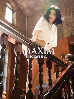 Min Do Hee Tiny- G- Maxim Magazine December Issue 2013