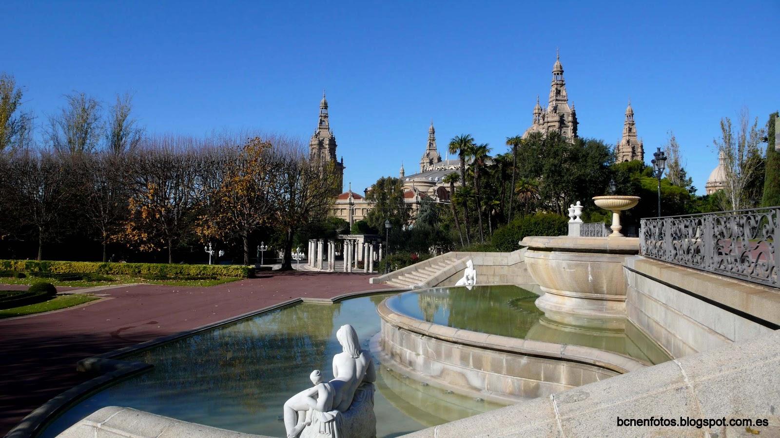 Mi barcelona jardines de joan maragall y palacete alb niz i for Jardines joan maragall