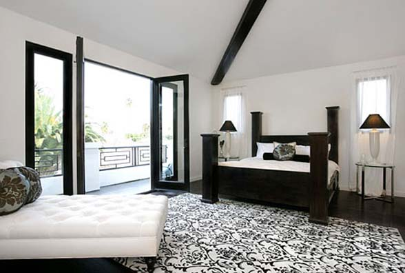 10 elegant black and white bedroom ideas