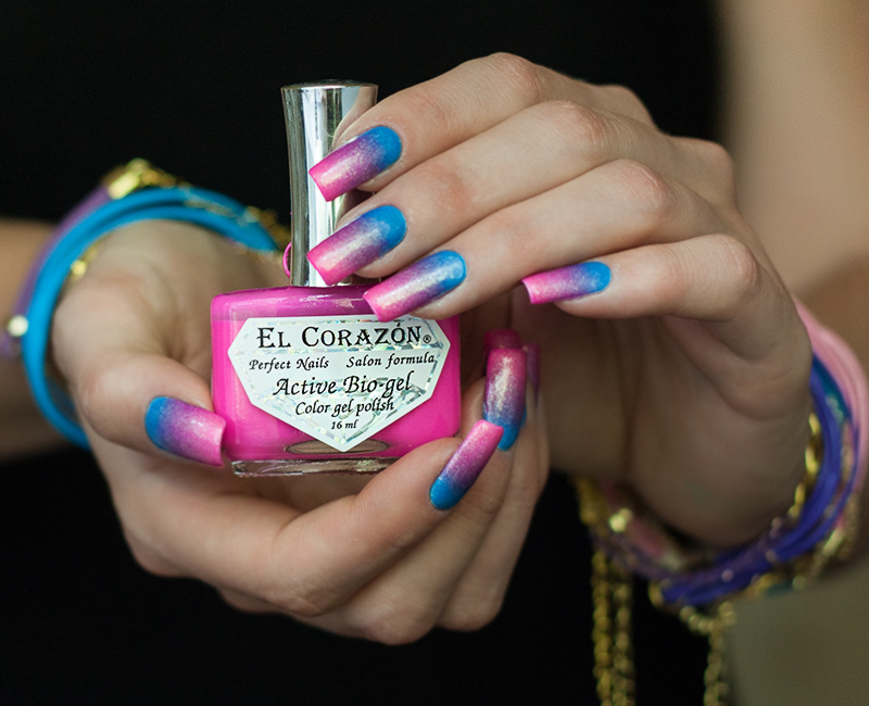 "gradient El Corazon activ bio gel ""Jelly Neon""  #423/254 #423/256 #423/252 #423/257"