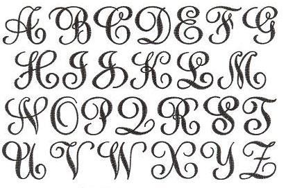 Astounding image intended for printable monogram letters