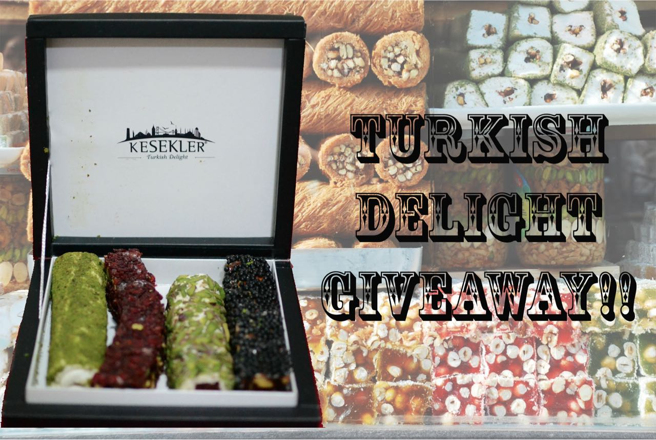 Turkish Delight Giveaway | #28daysofIstanbul