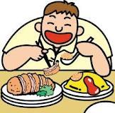 makan, orang kuat makan, makanan sihat