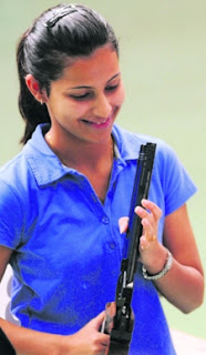 Champion Shooting Heena Sidhu