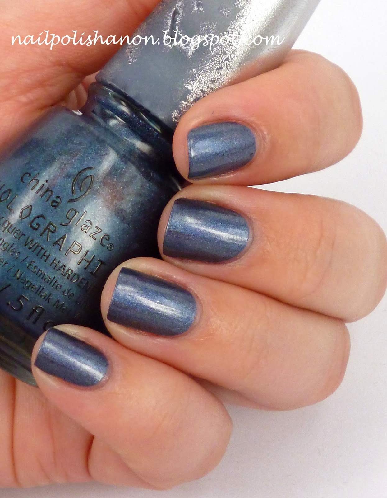 Nail Polish Anon: China Glaze Holographic in Strap On Your Moonboots ...