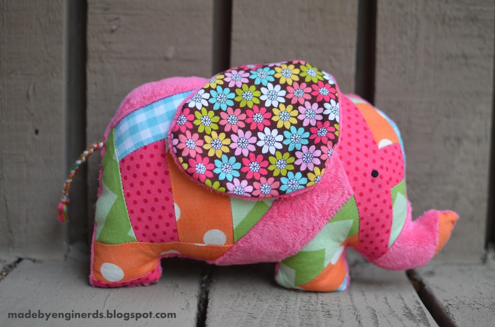Made by enginerds elephant stuffed animal tutorial with pattern elephant stuffed animal tutorial with pattern jeuxipadfo Choice Image
