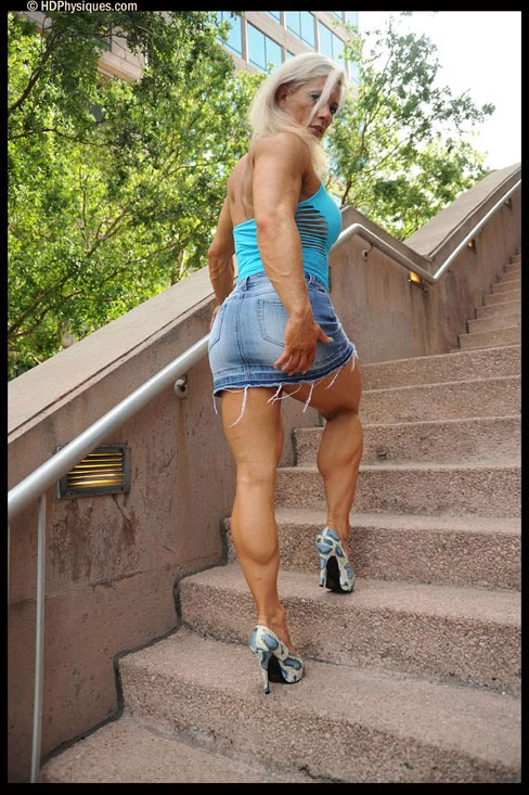 Skadi Frei-Seifert Female Muscle Bodybuilding Blog HDPhysiques
